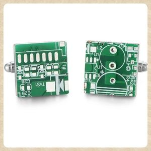 Other - RESTOCKED! Circuit Board Cufflinks
